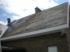Ontmossen van daken - voor aanvang der werken