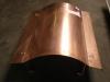 Schouwkap koper, model omega